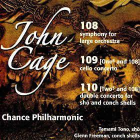 John Cage – 108, 109, 110