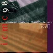 ICMC98 International Computer Music Conference